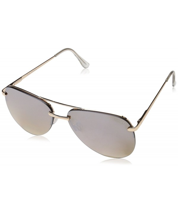 Quay Australia Sunglasses Aviator Frameless