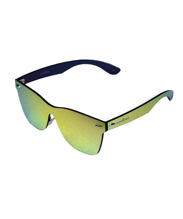 amoloma Frameless Rimless Sunglasses Wayfarer