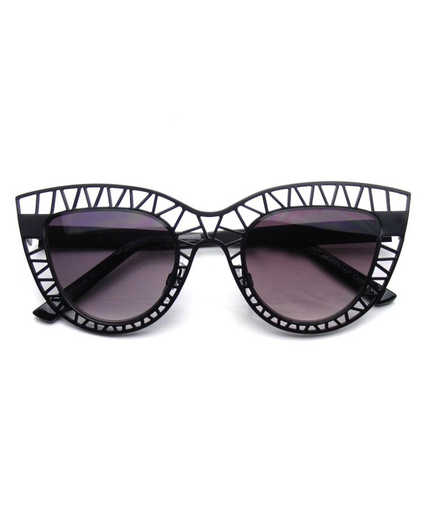 Fashion Sunglasses Metal Cut Out
