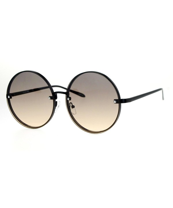 SA106 Rimless Hippie Oceanic Sunglasses