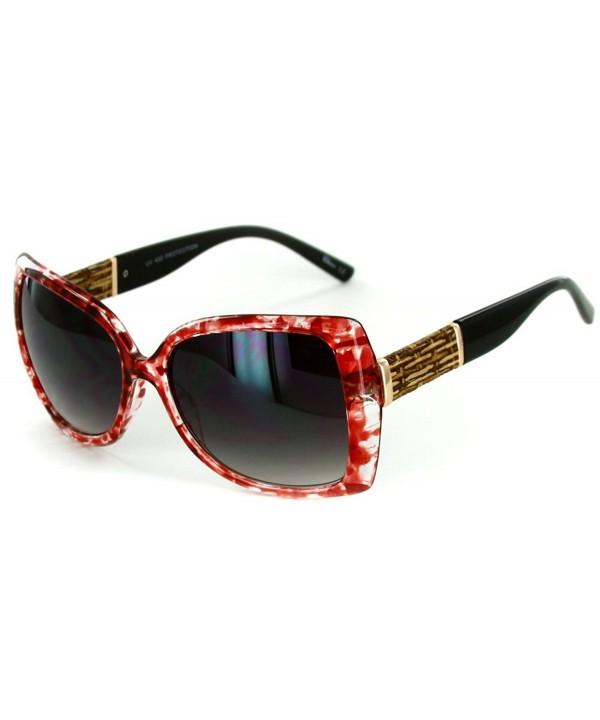 Fashion Square Sunglasses Butterfly Stylish
