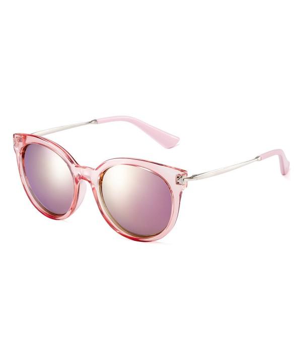 CAXMAN Womens Polarized Sunglasses Transparent