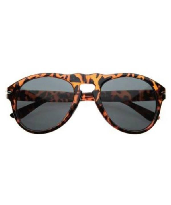 zeroUV Vintage Inspired Sunglasses Tortoise