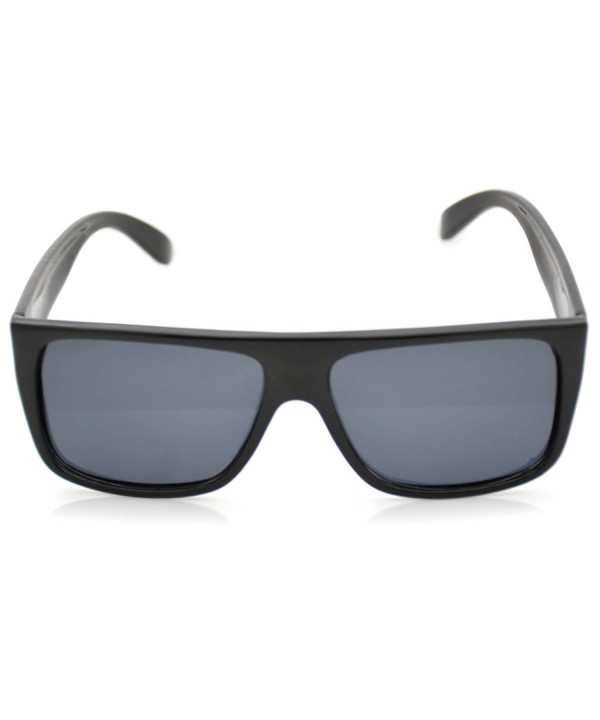 Modern Flat Top Polarized Aviator Sunglasses