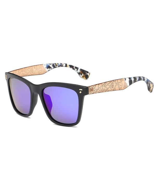 AMZTM Wayfarer Sunglasses Reflective Mirrored
