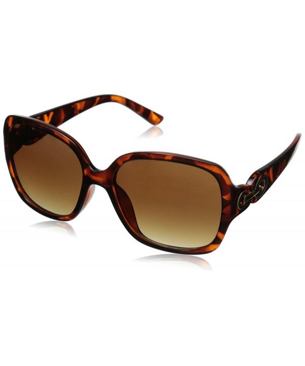 Adrienne Vittadini Womens Sunglasses Tortoise