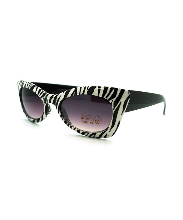 Womens Animal Rectangular Fashion Sunglasses