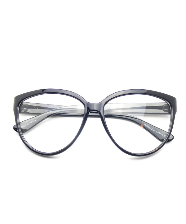 Oversize Fashion Cat Eye Geek
