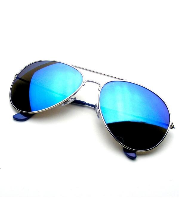 Reflective Classic Flash Mirrored Sunglasses