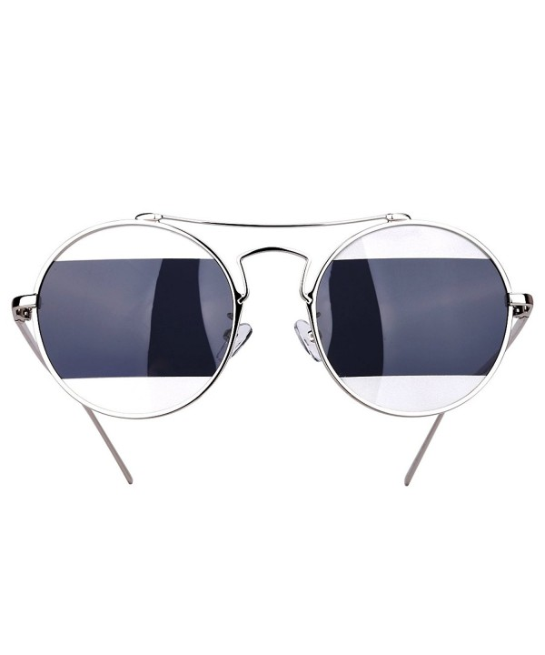 Round Fashion Sunglasses Polarized Protection