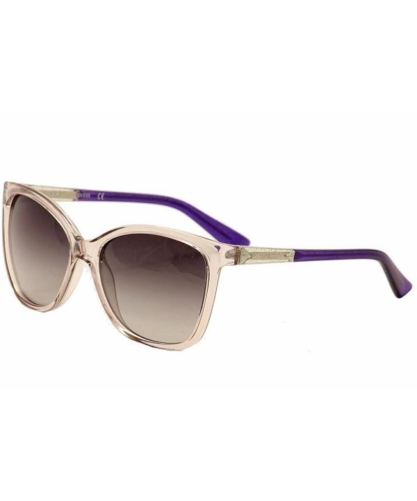 GUESS Womens Acetate Cat Eye Sunglasses