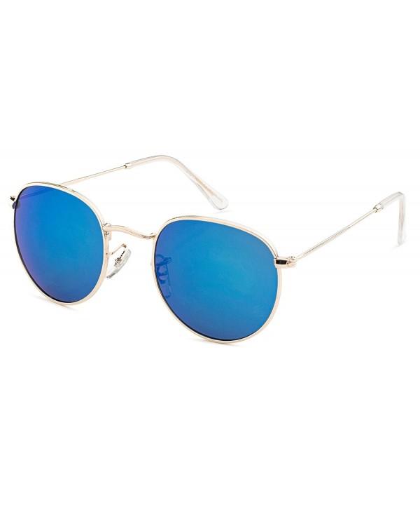 Stylle Round Unisex Sunglasses Mirror