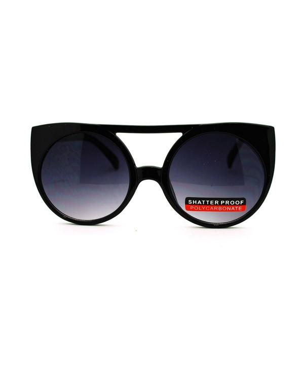 Circle Double Bridge Womens Sunglasses