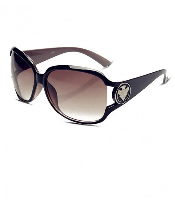 KELUOZE Polarized Sunglasses Oversized Eyeglasses
