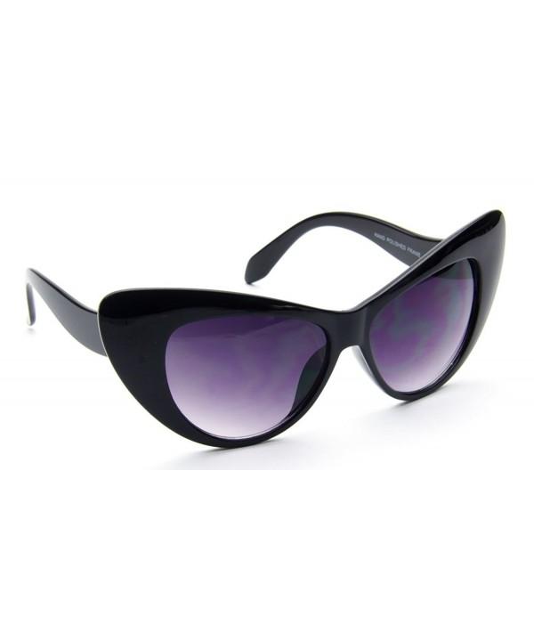 Vintage Oversize Sunglasses Plastic Inspired