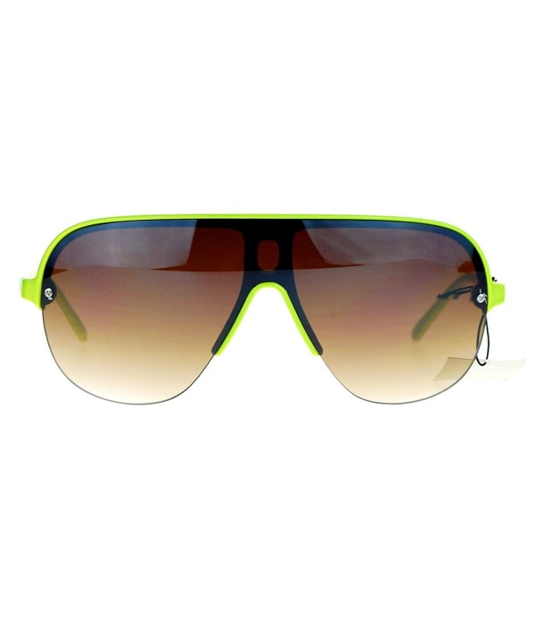 SA106 Speed Plastic Aviator Sunglasses