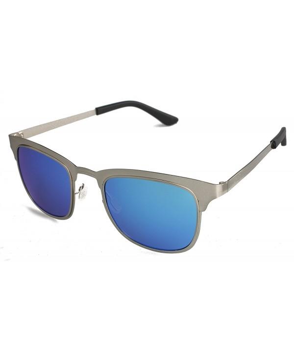 Rimless Polarized Sunglasses Mirror Glasses