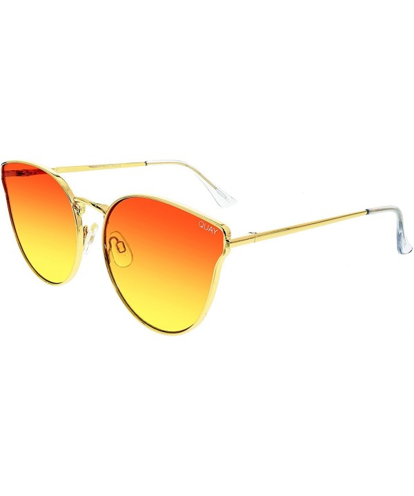 Quay Womens Love Sunglasses Orange