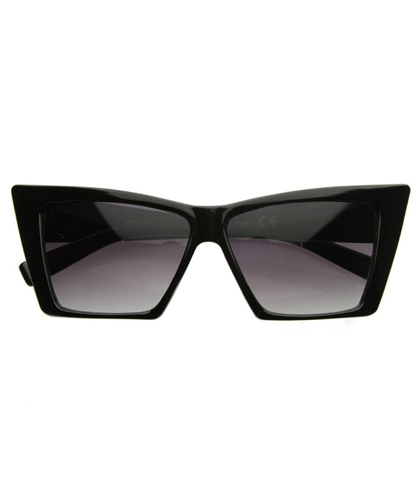 zeroUV Pointed Sunglasses Geometric Cateyes