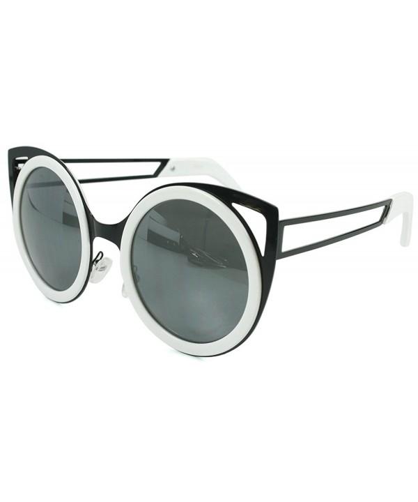 Aloha Womens Cateye Sunglasses Mirror