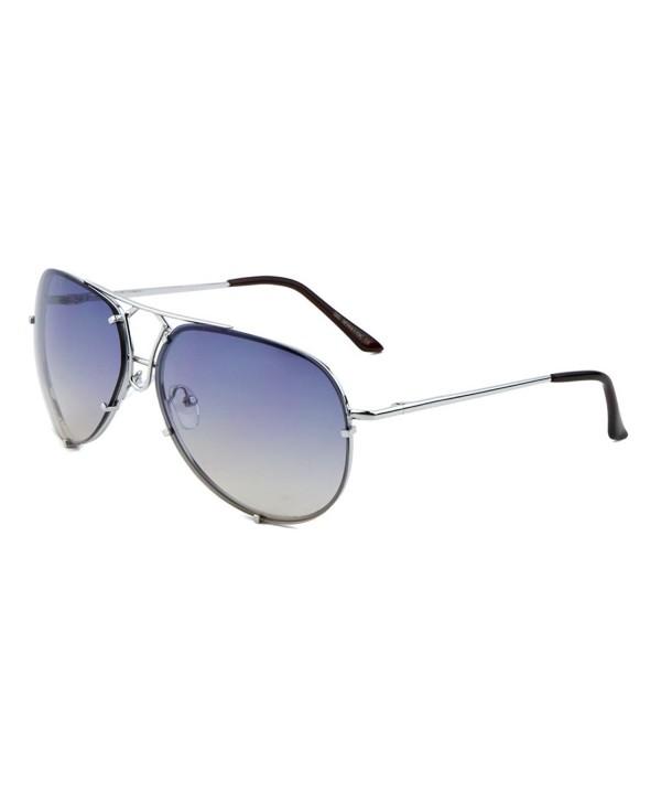 Fashion Aviator Sunglasses Oceanic Rimmed