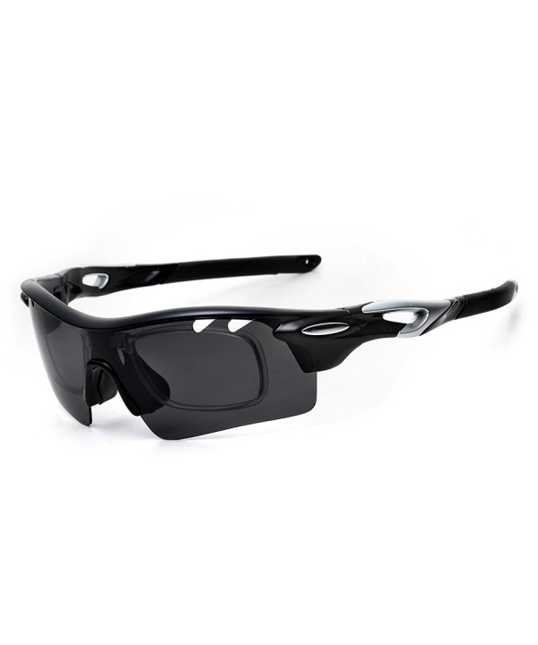 PenSee Polarized Interchangeable Unbreakable Sunglasses