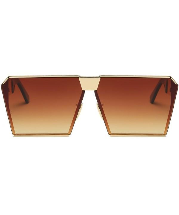 Square Oversized Fashion Sunglasses Gradient