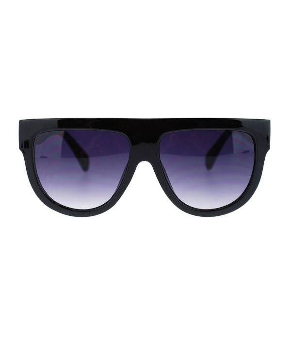 Womens Plastic Oversize Boyfriend Sunglasses