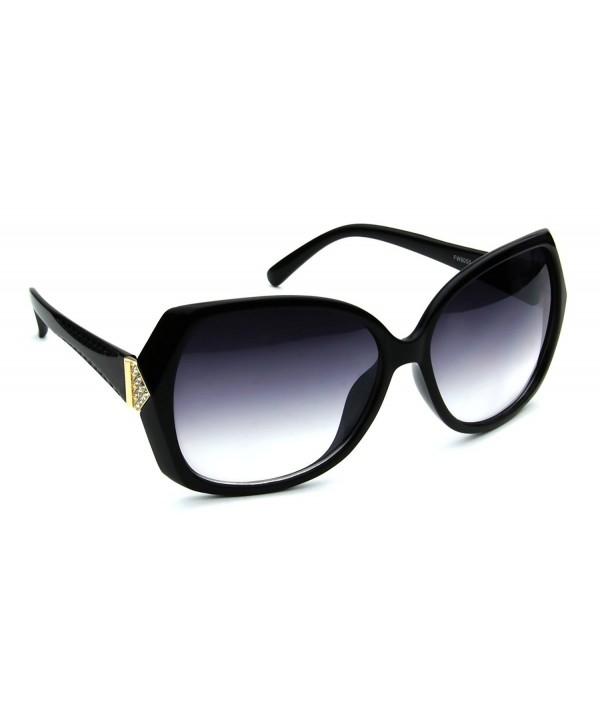 Designer Eyewear Vintage Rhinestone Sunglasses