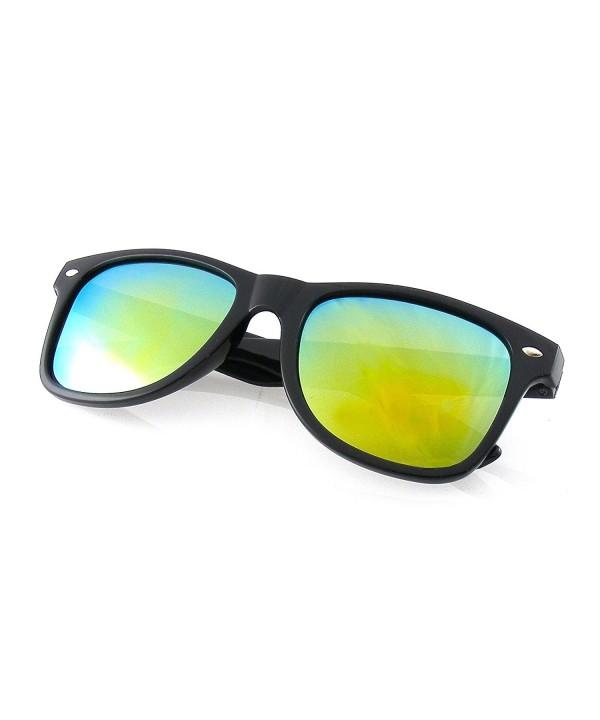 Flash Mirror Polarized Retro Sunglasses