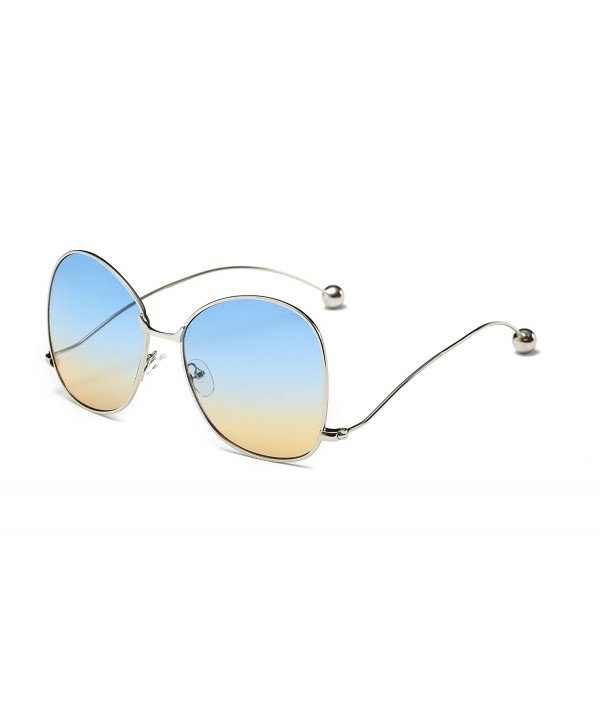 Cramilo Fashion Designer Oversized Sunglasses