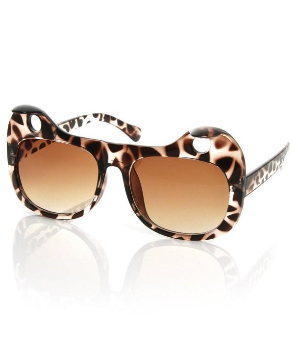 zeroUV Designer Inspired Sunglasses Tortoise