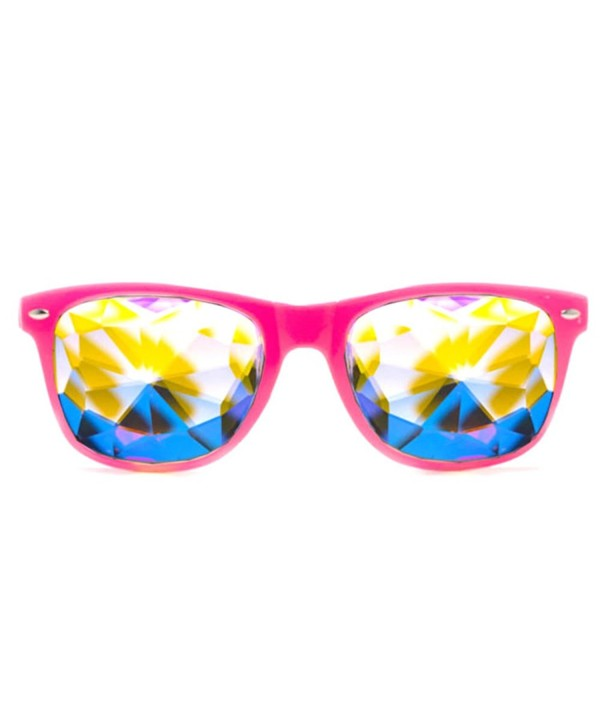GloFX Pink Ultimate Kaleidoscope Glasses