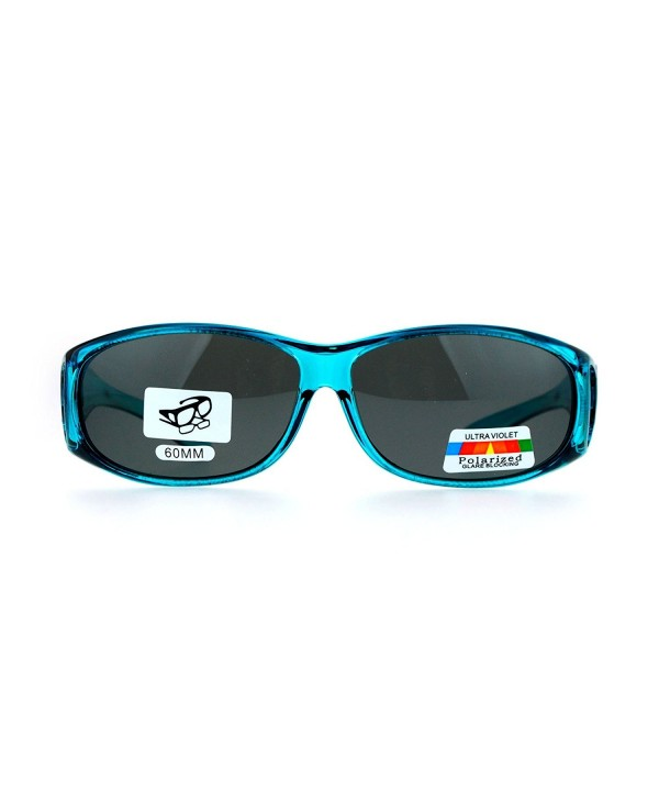 SA106 Rectangular Polarized Anti glare Sunglasses