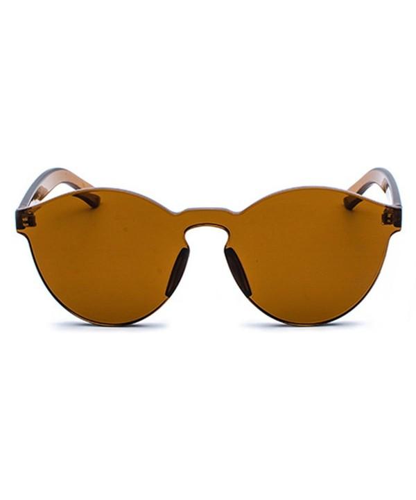 Glamaker Fashion Oversized Twin Beams Sunglasses