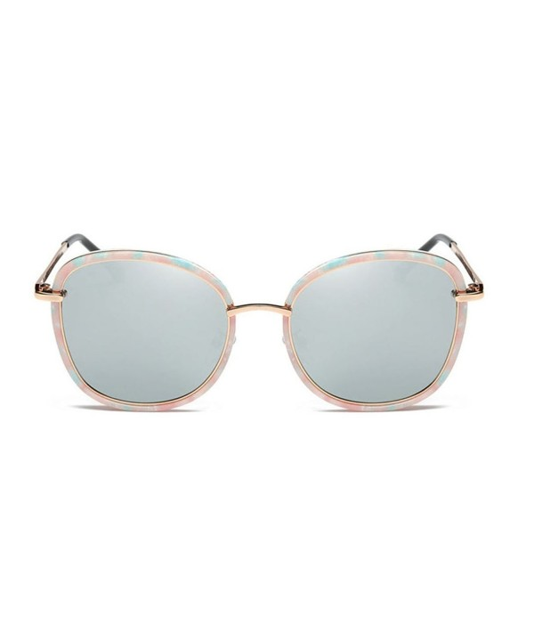 GAMT Mirrored Oversized Polarized Sunglasses