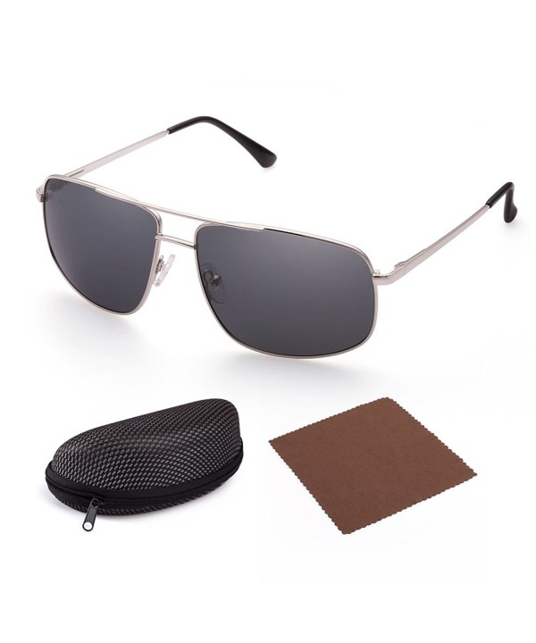 Polarized Sunglasses LotFancy Rectangular Protection