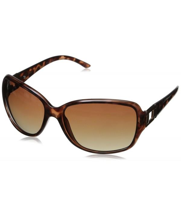 Foster Poppet Rectangular Sunglasses Tortoise
