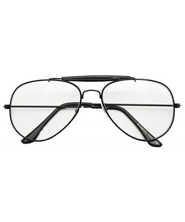 SunglassUP Oversize Aviator Plastic Glasses