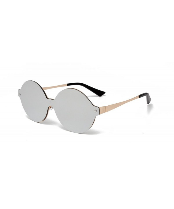 GAMT Sunglasses Integral Mirrored Silver