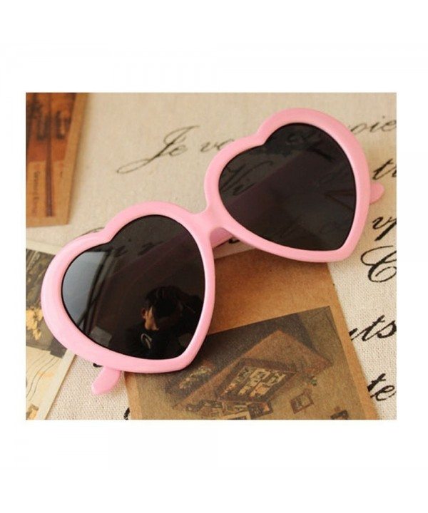 Fashion Oversized Heart Shaped Sunglasses Eyeglasses