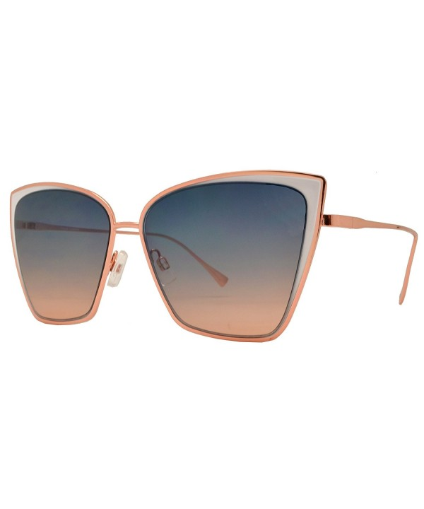 Fashion Eyelinks Modern Metal Sunglasses