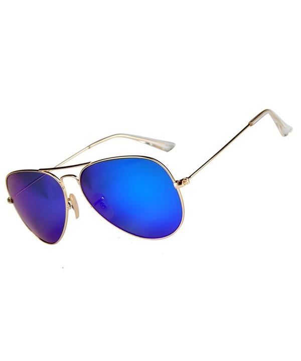 Mixshield Premium Mirrored Aviator Sunglasses