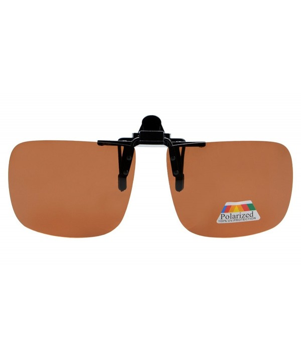 Eyekepper Square Polarized Clip Sunglasses