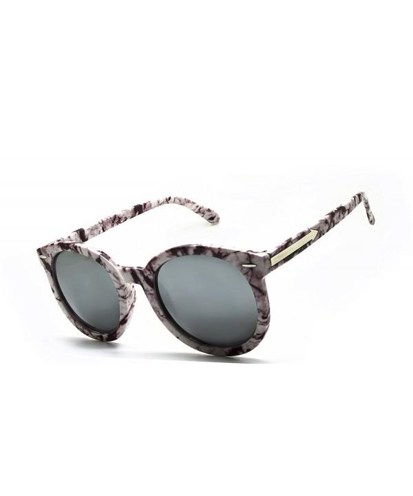 Oversize Marbling Wayfarer Sunglasses marbling