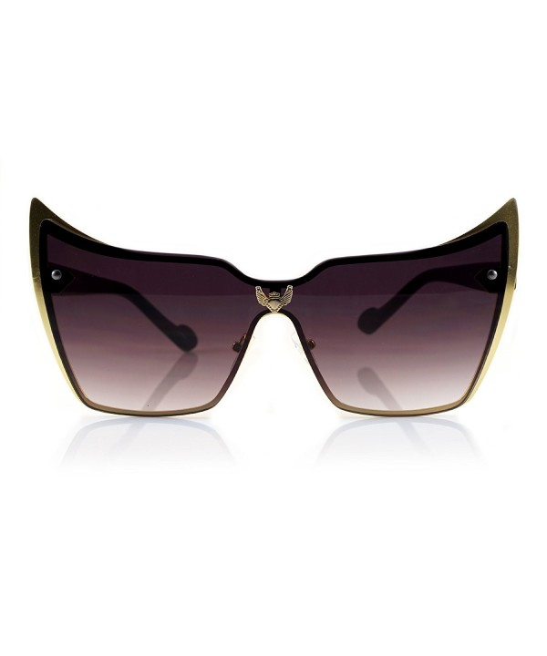 Fa Beau Lux Sophisticated Oversize Sunglasses Gradient