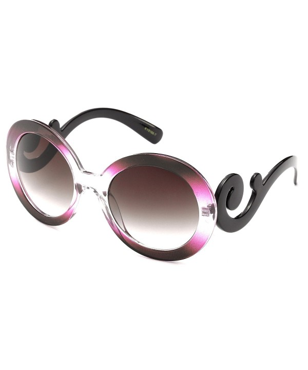 Newbee Fashion Oversized Cateye Sunglasses