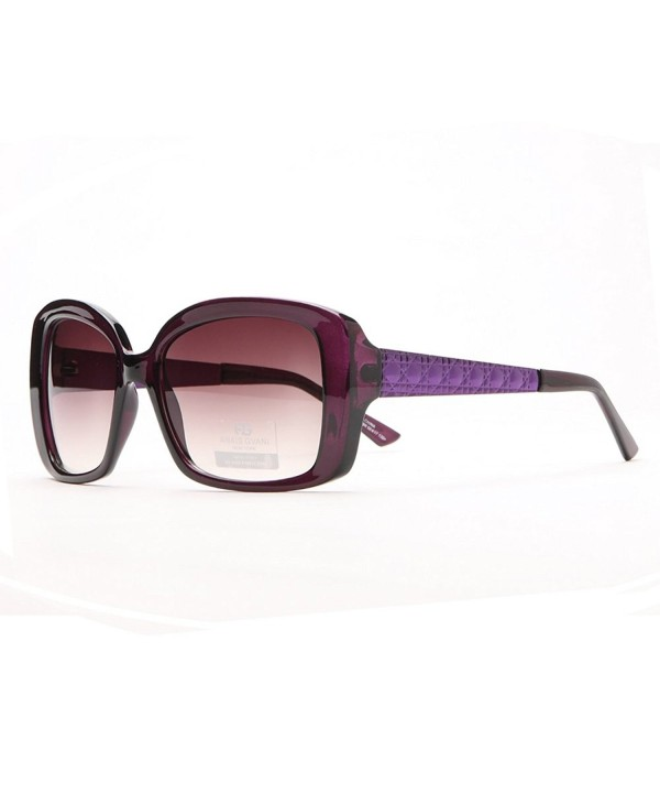 Anais Gvani Sunglasses Quilt like Texture