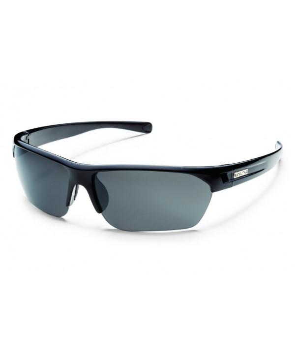 Suncloud Detour Polarized Sunglasses Black