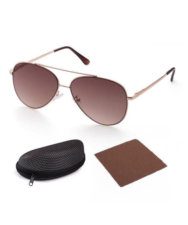 Aviator Sunglasses Women LotFancy Gradient